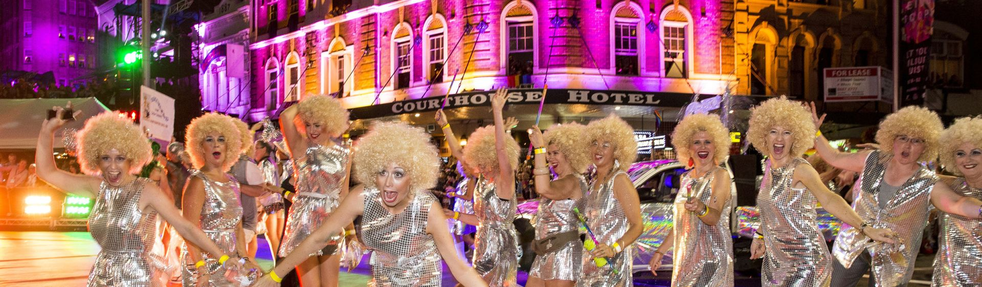 Sydney Gay and Lesbian Mardi Gras - Oxford Street Parade