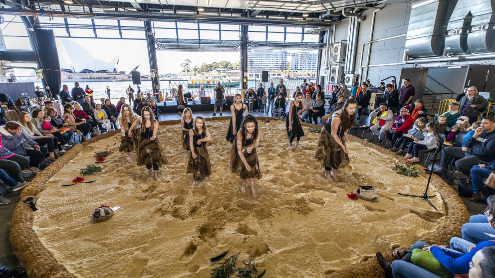 The 2018 National Indigenous NAIDOC Art Fair hosted by Blak Markets at the Overseas Passenger Terminal, Sydney City