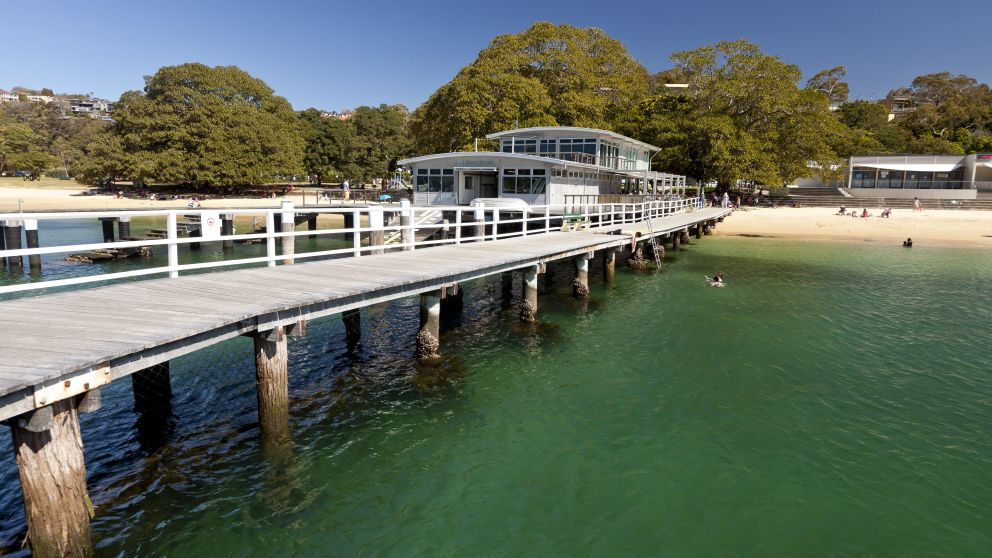 Balmoral Baths at Balmoral Beach, Mosman