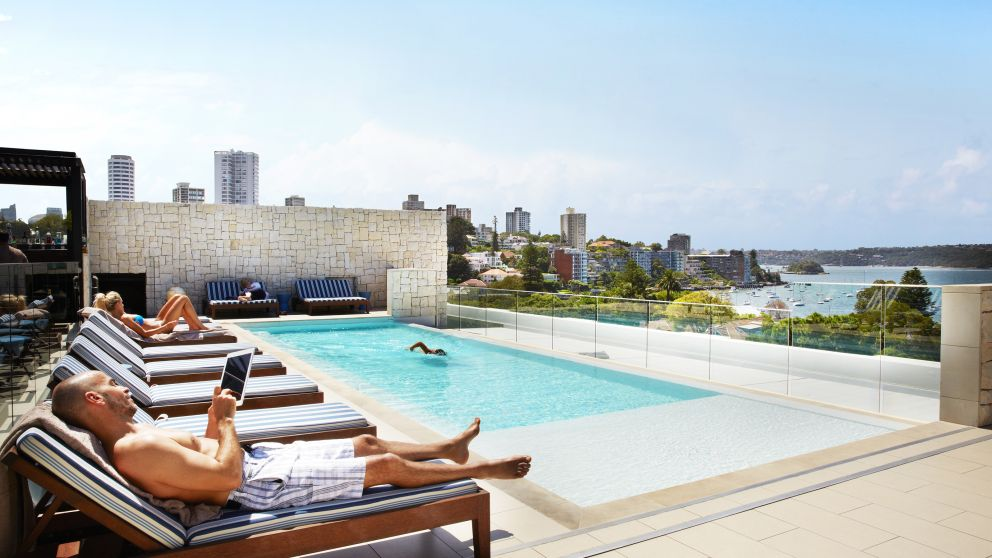 Sydney Double Bay Intercontinental poolside