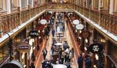 Shoppers in Queen Victoria Building in Sydney's CBD.