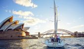 Sailing on Sydney Harbour