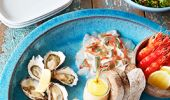 Seafood platter at the Palm Beach Boathouse, Northern Beaches