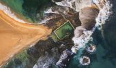 Mona Vale Rockpool aerial shot - Northern Beaches