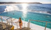 Swimmers at Bondi Icebergs Club - Bondi Beach