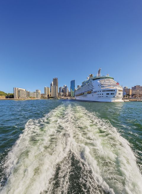 Sydney Harbour in Summer
