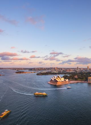 360-degree panoramic views from the Sydney Harbour Bridge BridgeClimb Sydney experience