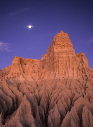 Walls of China, sand formations, Mungo National Park, Outback NSW