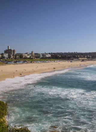 A Summer's day at the Bondi Beach, Sydney
