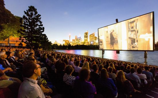 The St George OpenAir Cinema is located at Fleet Steps, Mrs Macquaries Point, Sydney