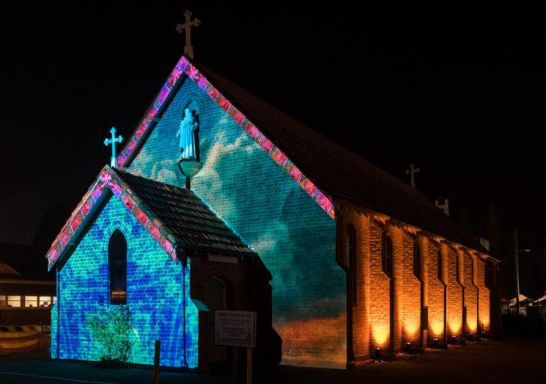 Illuminate Wollondilly Festival of Art and Light, Picton